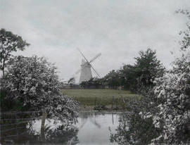 Early image of Upminster Windmill from NE