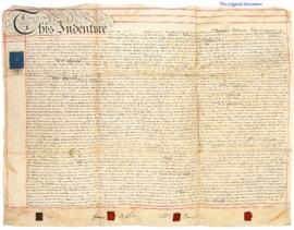 1837 mortgage indenture, with transcript