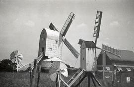 """Windmill at Cross in Hand, Sussex"""