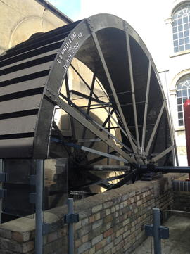 Maiden Bradley Wheel, London Museum of Water and Steam