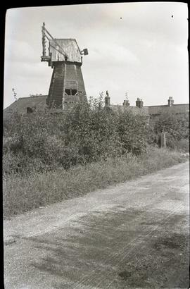 """Cowlinge smock mill, Suffolk"""