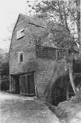 Plumpton Upper Mill, Plumpton, with wheel