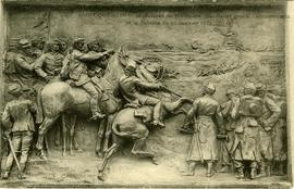 Bas-relief of the Battle of Saint-Quentin