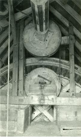 Tottenhill Post Mill, Norfolk, internal