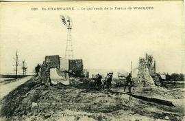 What is left of Wacques Farm, Champagne