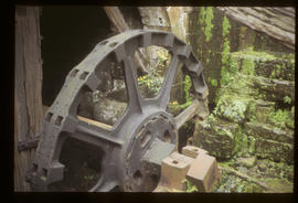 Top Forge, Wortley, Sheffield, waterwheel rim