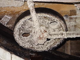 Truck wheel, Maud Foster Mill, Boston