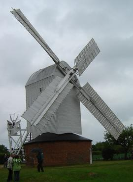 External view, Upthorpe Road Mill, Stanton