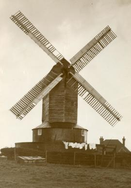"""Down Mill, Bexhill; Sussex"""