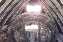 Interior of cap, Hunsett Mill, Stalham