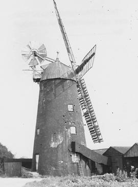 Steven's Tower Mill, Burwell