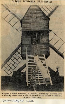 """Oldest windmill preserved"""