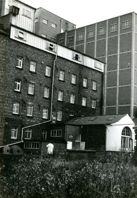 King's Mill, Knottingley, view from west