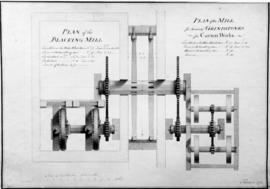 Plan of a Blacking Mill