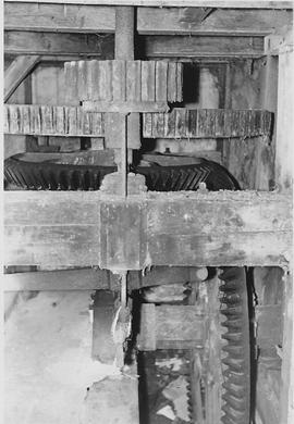 Sutton Mandeville Mill, Sutton Mandeville, internal, pit wheel, wallower, spur wheel, stone nut