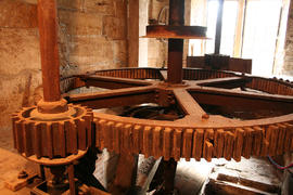 Chetnole Mill, Beaminster, Dorset, main gear train