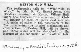 """Keston Old Mill"""