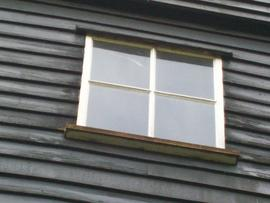 Fryerning Mill window