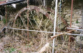 Killaworgey water wheel, St Columb Major