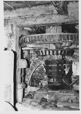 Quidhampton Mill, Overton, internal, pit wheel, wallower, spur wheel