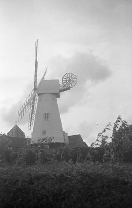 """Windmill at Chailey, Sussex"""