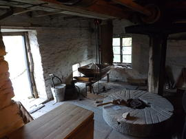 Lower Mill, Clodock, Herefordshire, interior