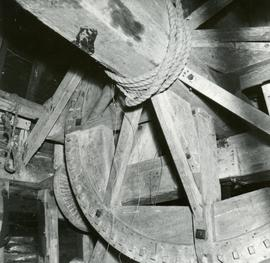 Machinery in High Salvington Windmill, High Salvington, Sussex, England