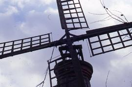 """Elvington Windpump, sail & cross"""
