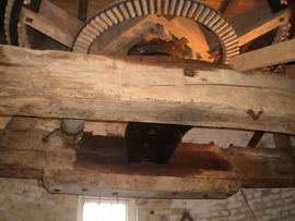 Upright shaft support frame, Ovenden's Windmill, Polegate