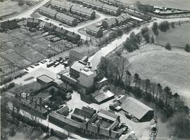 Aerial view of Heygate's Mill, Tring