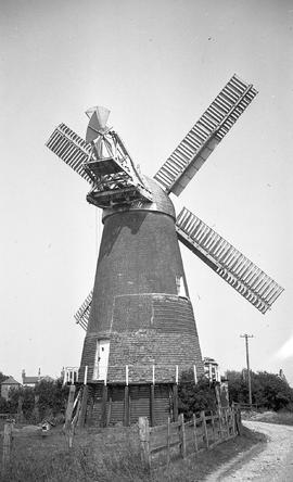"""Windmill at Polegate, Sussex"""
