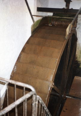 Chipley Saw Mills, Nynehead - William Willmitt iron overshot waterwheel