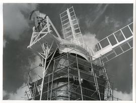 Berney Arms Mill (under repair), Norfolk