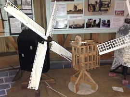 Model of High Salvington Windmill, High Salvington, Sussex