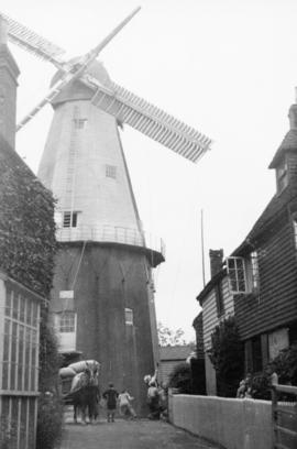 Cranbrook Mill from its approach street