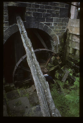 Top Forge, Wortley, Sheffield, waterwheel rim for helve hammer