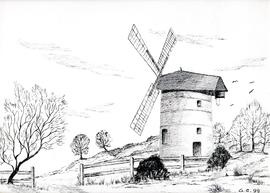 Sketch of Ashton Mill, Chapel Allerton