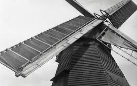 """Spring Sails, Windmill at Earnley, Sussex"""
