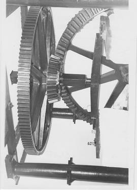 Heath Mill, Worplesdon, internal, pit wheel and wallower, spur wheel