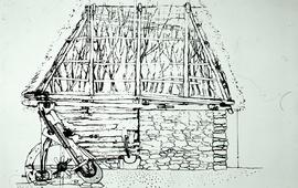 """Romanian Early Fulling Mill"""
