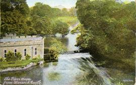 """The River Avon, from Warwick Castle"""