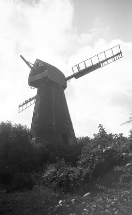 """Windmill at Peasemarsh, Sussex"""