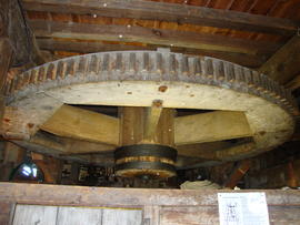 Great spur wheel, Upminster Windmill, Upminster