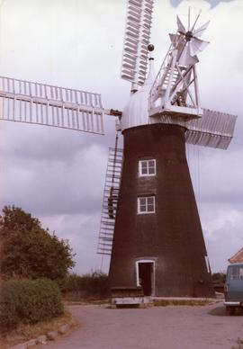 Tower mill, North Leverton, Nottinghamshire