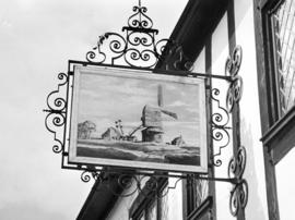 The Mill Inn, Aldeburgh, inn sign