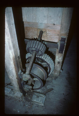 Wire machine drive, Mapledurham Mill, Mapledurham, Berkshire