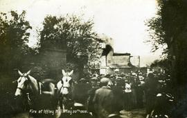 """Fire at Iffley Mill May 20th 1908"""