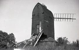 """Windmill at Henfield, Sussex"""