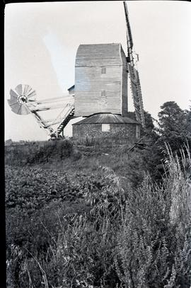 """Woolpit post mill, Suffolk"""