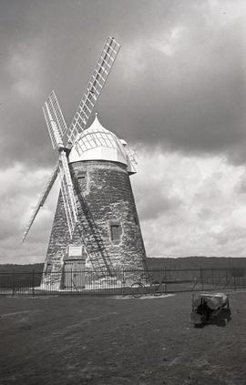 """Windmill at Halnaker, Sussex"""